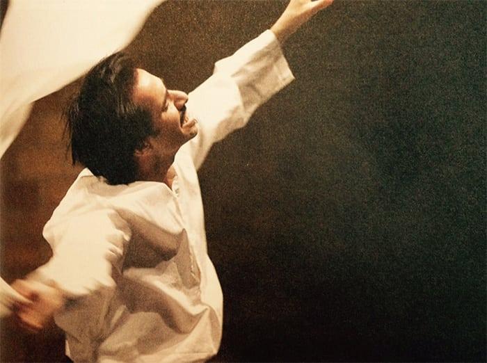 Saed Kakish performing Sabeel at the University of St. Thomas© St. Thomas Photo Services/www.stthomas.edu/photo