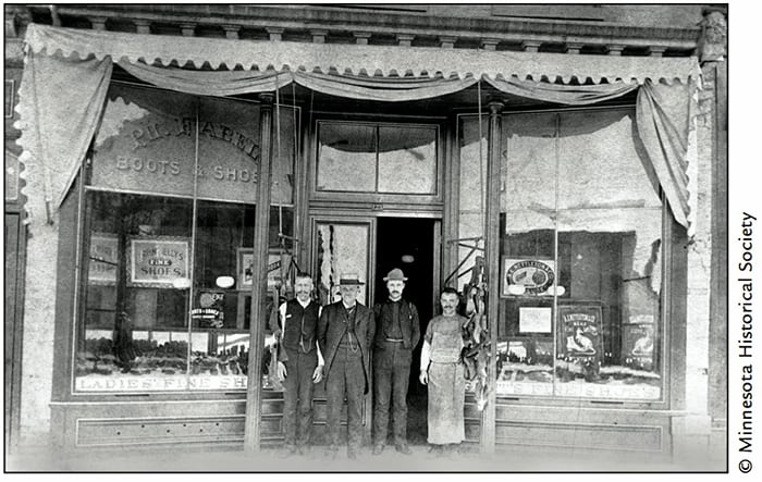 Philip Fabel Shoe Store, 123 West Third Street
