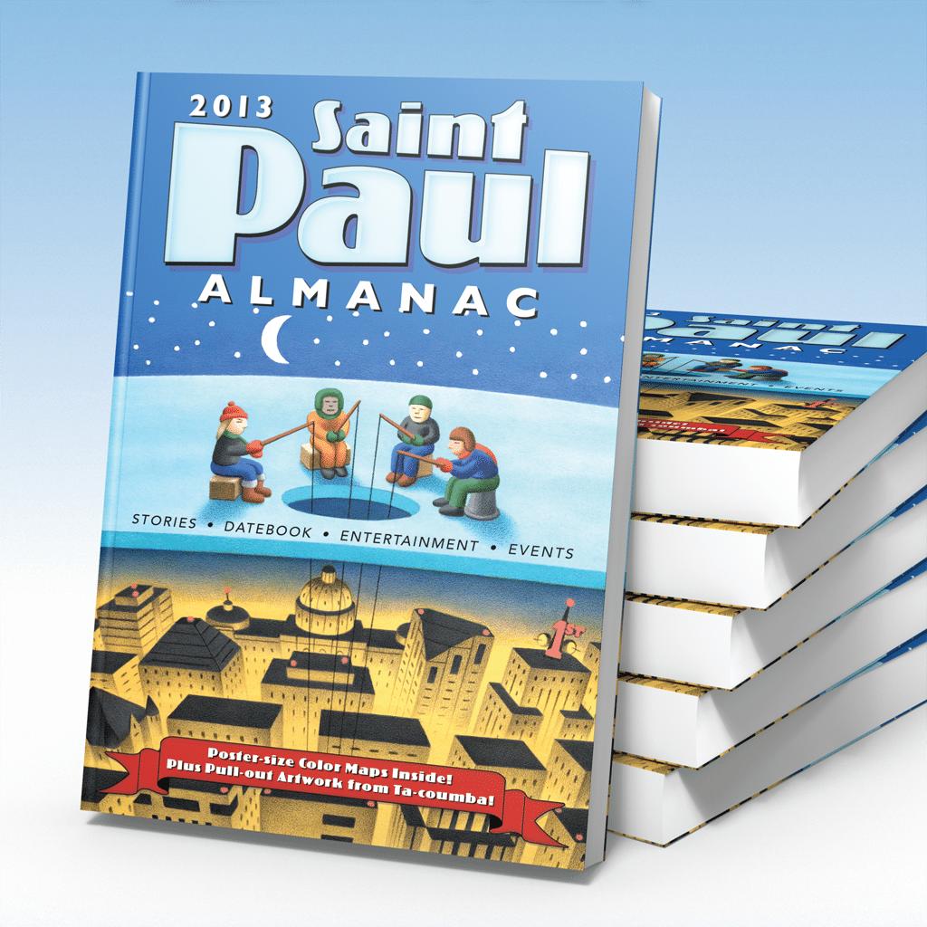 Sept–Nov 2012: Readings from the new 2013 Saint Paul Almanac