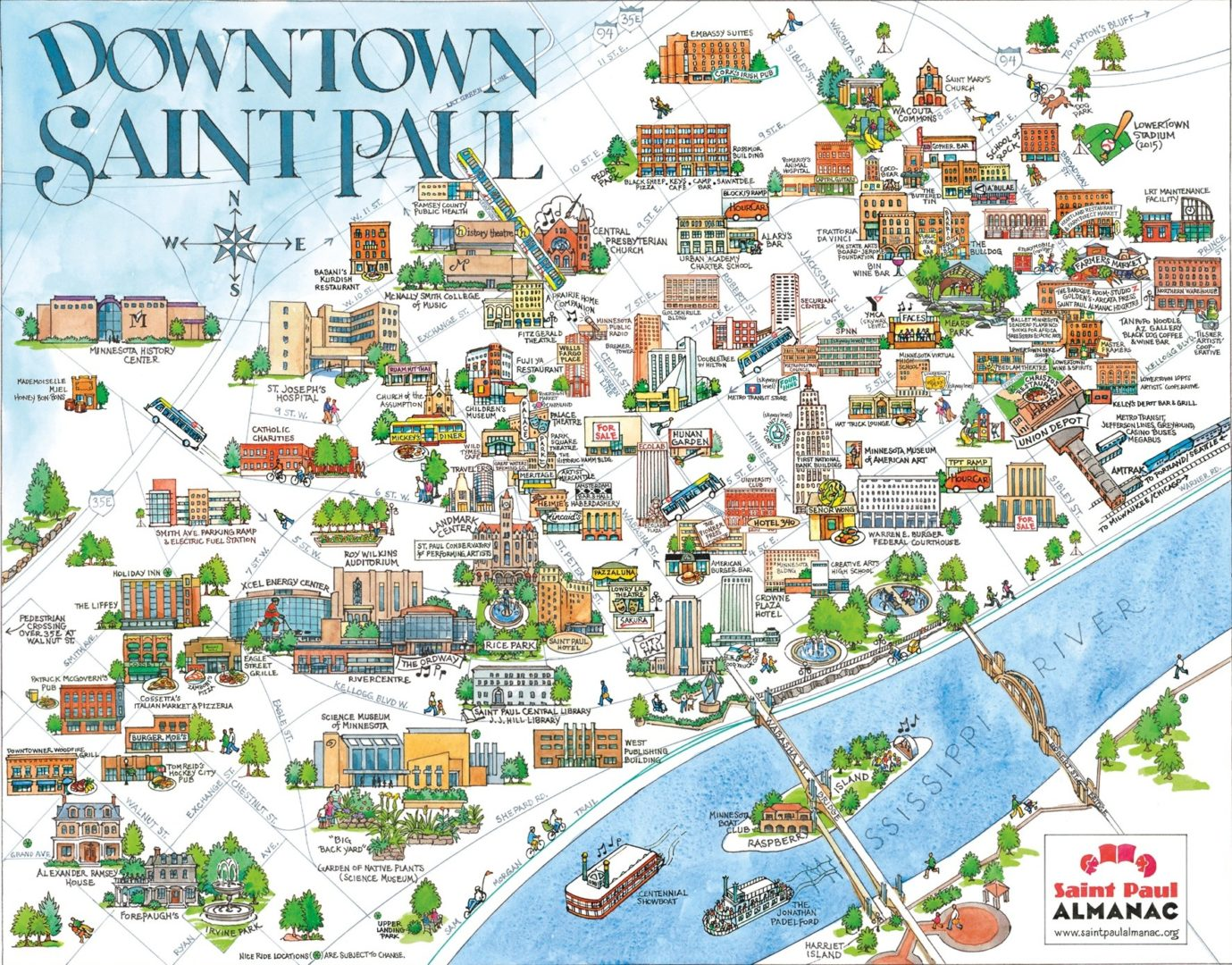 Saint Paul and the Incredible Shrinking Downtown | streets mn