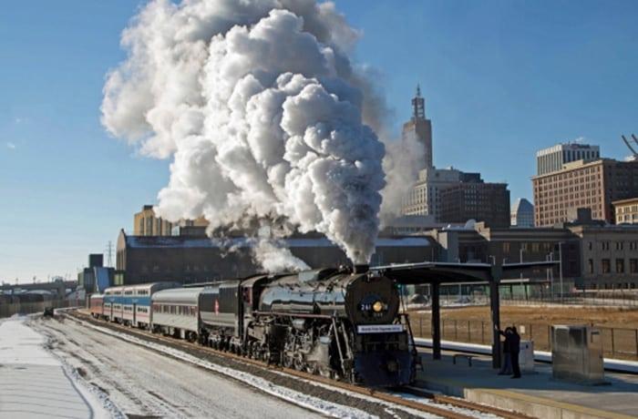North Pole Express Engine No. 261 at Saint Paul Union Depot © Jeff Terry