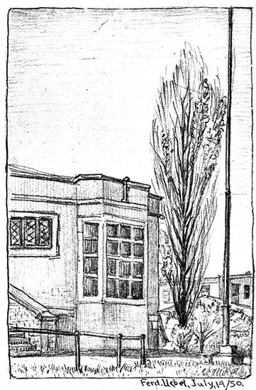 Ferdinand Uebel, 1950 Courtesy Minnesota Historical Society