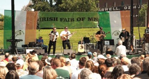 Photo courtesy of the Irish Fair