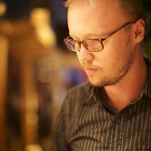 Lowertown film maker and artist Karl Warnke