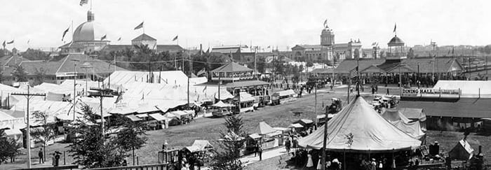 After four years of territorial fairs, the first Minnesota State Fair was held in 1859 near what became downtown Minneapolis. This was a year after Minnesota was granted statehood.