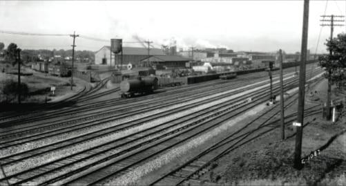 Great Northern Railway, Dale Street Shops.Photo © Minnesota Historical Society