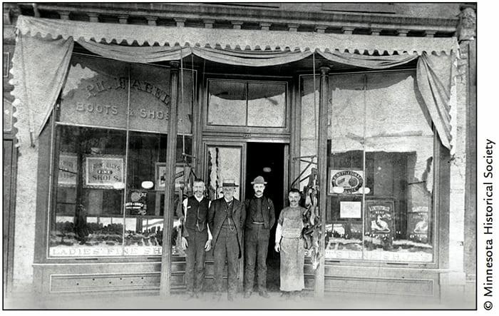 Philip Fabel Shoe Store, 123 West Third Street