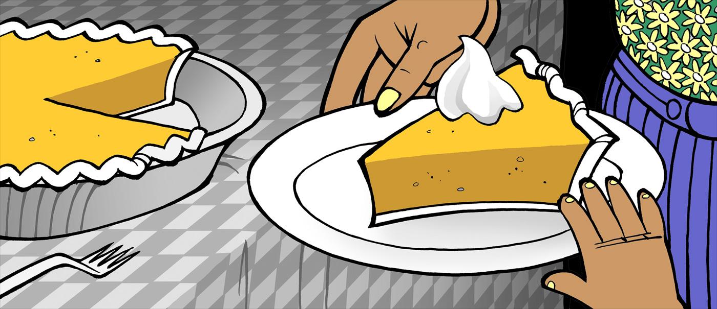 sweet potato pie short story