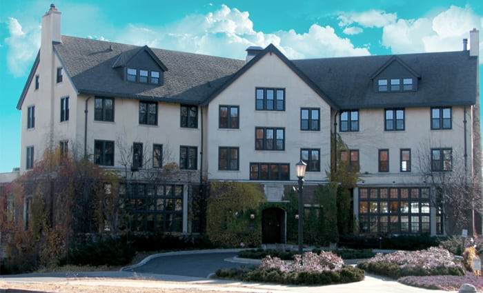 """Saint Paul University Club, the site of Carol Connolly's """"Readings by Writers"""" Series"""